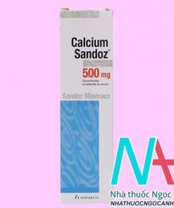 thuốc Calcium Sandoz 500mg