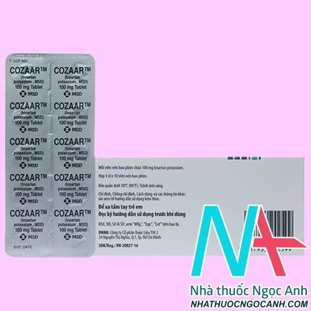 thuốc Cozaar 100mg