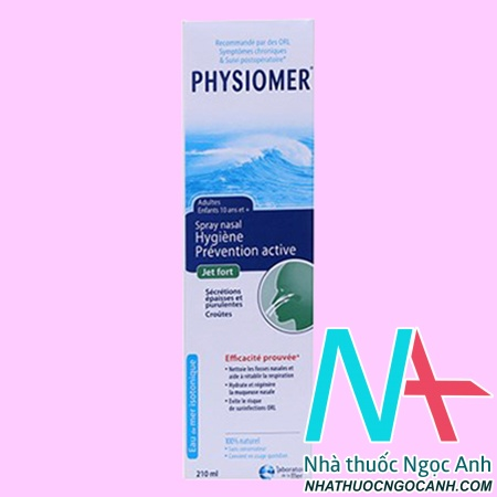 thuốc Physiomer Strong Jet 210ml