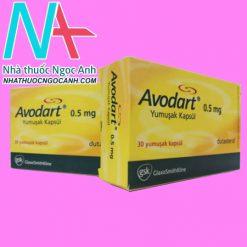 Hộp thuốc Avodart