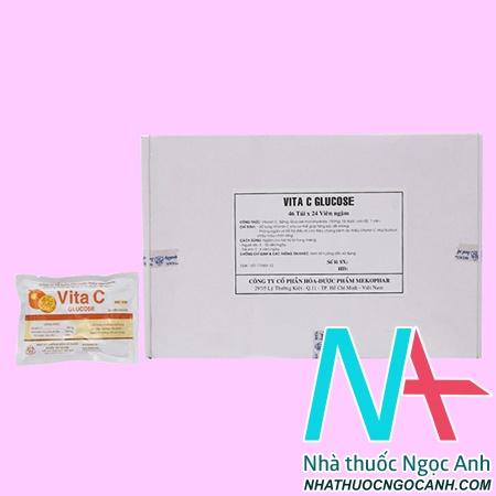 hộp Vita C Glucose 50mg