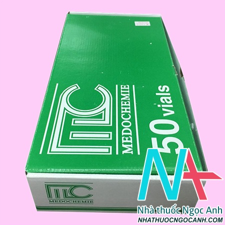 Hộp thuốc Medocef 1g
