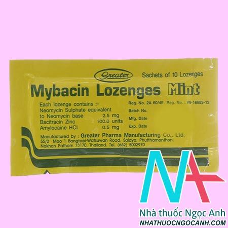 Mybacin Lozenges Mint