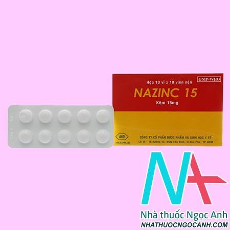 Thuốc Nazinc 15