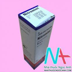 Thuốc Nitromint® khí dung có tác dụng gì