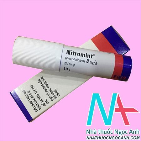 Thuốc Nitromint® khí dung
