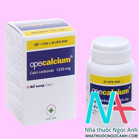 Thuốc Opecalcium 1250mg