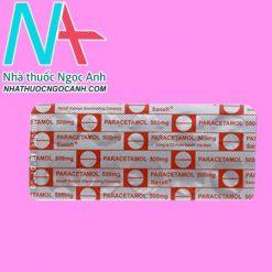 Thuốc Paracetamol Sanofi
