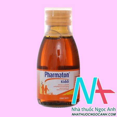 Thuốc Pharmaton Kiddi 100ml có tác dụng gì