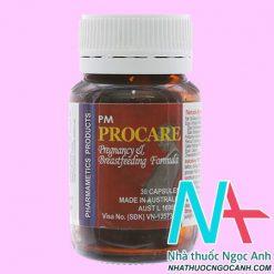 Procare pregnancy
