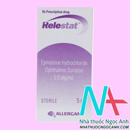 Hộp thuốc Relestat