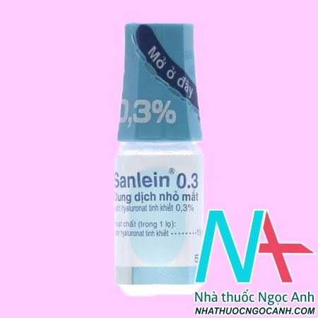 Thuốc Sanlein 0.3 là gì