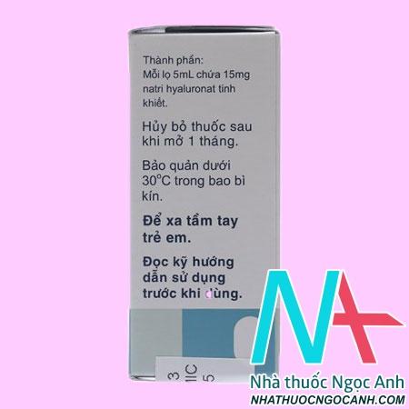 Thuốc Sanlein 0.3 có tác dụng gì