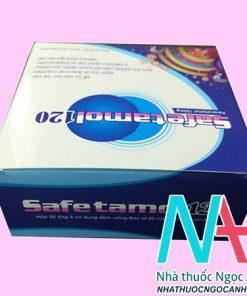 Hộp safetamol 120