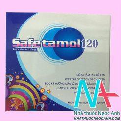 Thuốc Safetamol 120