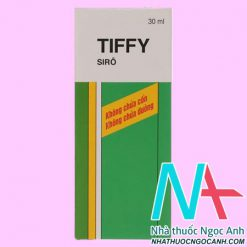 Hộp thuốc Siro Tiffy