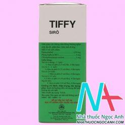 Hộp Siro Tiffy