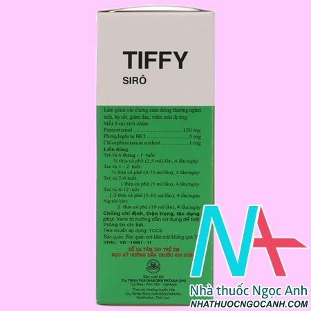 Hộp Siro Tiffy