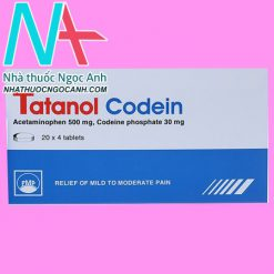 Thuốc Tatanol Codein