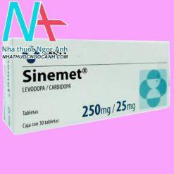 Hộp thuốc Sinemet