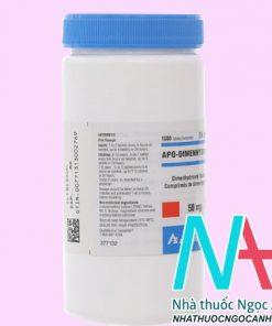 Thuốc Apo - Dimehydrinate có tác dụng gì