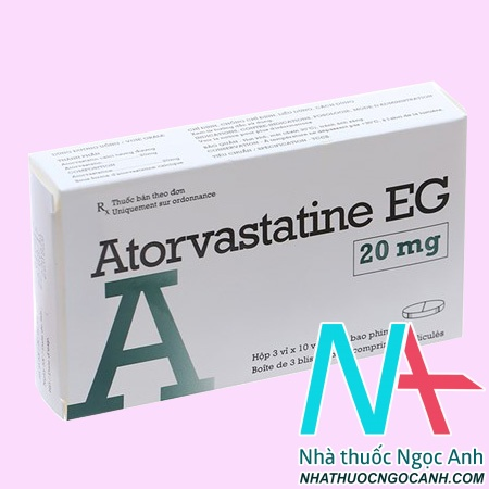 ThuốcAtorvastatine EG