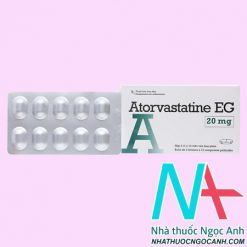 ThuốcAtorvastatine EG giá bao nhiêu