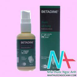 Betadin Throat Spray 50ml