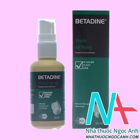 Betadin Throat Spray 50ml