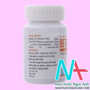 thuốc Betalgine