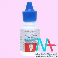 Thuốc Candid Ear Drop có tác dụng gì