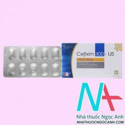ThuốcCefixim 400mg US có tác dụng gì