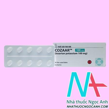 thuốc Cozaar 100mg giá bao nhiêu