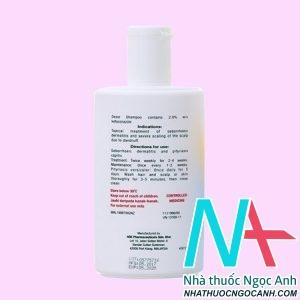 Thuốc Dezor Shampoo có tác dụng gì