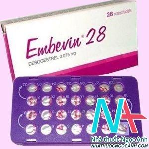 Thuốc Embevin 28 có tác dụng gì
