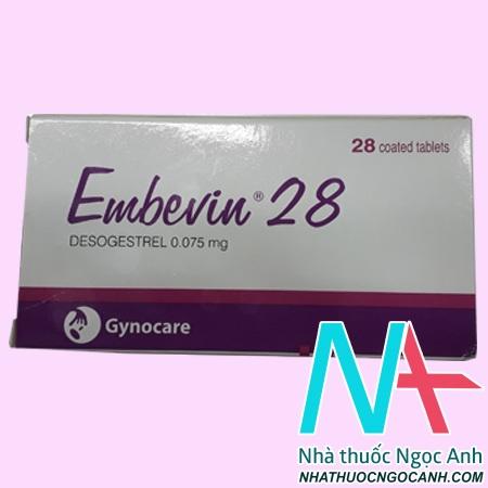 Thuốc Embevin 28 giá bao nhiêu