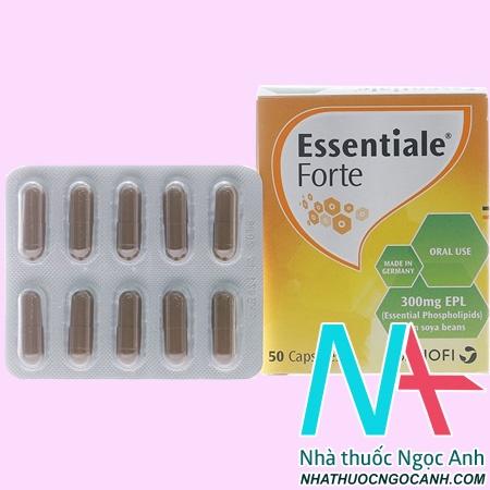 Thuốc Essentiale forte có tác dụng gì