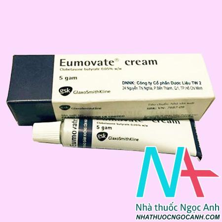 Thuốc Eumovate Cream giá bao nhiêu
