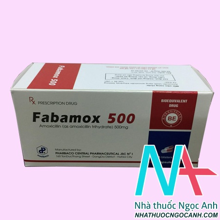 Thuốc Fabamox 500 là thuốc gì