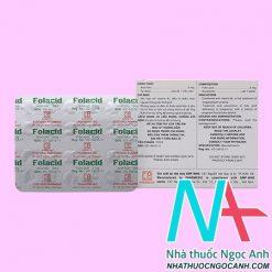thuốc Folacid 5mg
