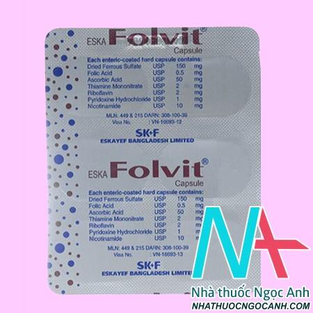 thuốc Folvit