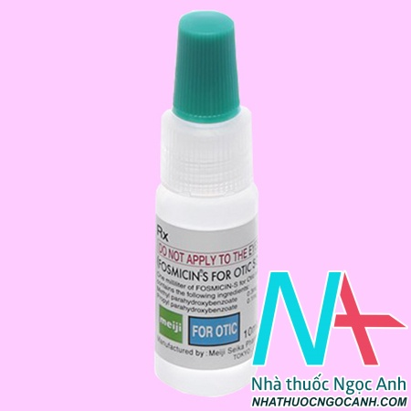 thuốc Fosmicin S For Otic 300mg