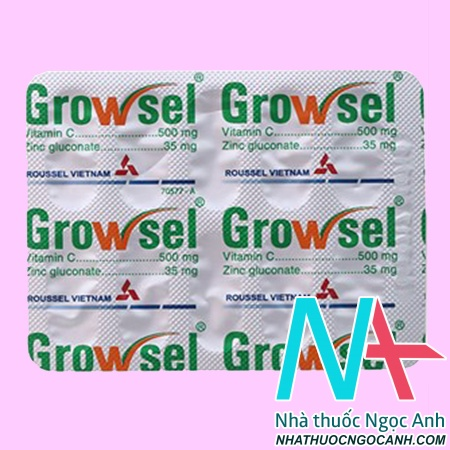 Vỉ Thuốc Growsel