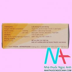 thuốc Hasan - C 1000mg