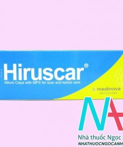 Thuốc Hiruscar Gel