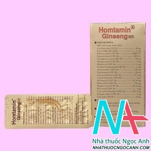 thuốc Homtamin Ginseng