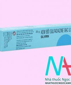 ThuốcSulfadiazine Bạc U.S.P