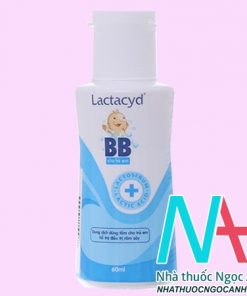 ThuốcLactacyd BB có tác dụng gì