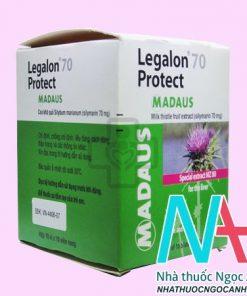 Thuốc Legalon 70 Protect Madaus có tác dụng gì