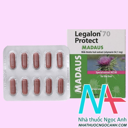 Thuốc Legalon 70 Protect Madaus